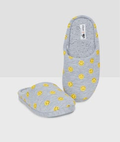 Zapatillas smiley c.gris.