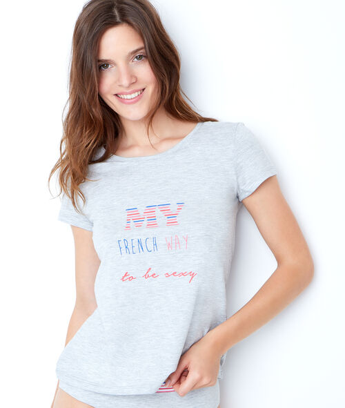 Camiseta 'My French way to be sexy'
