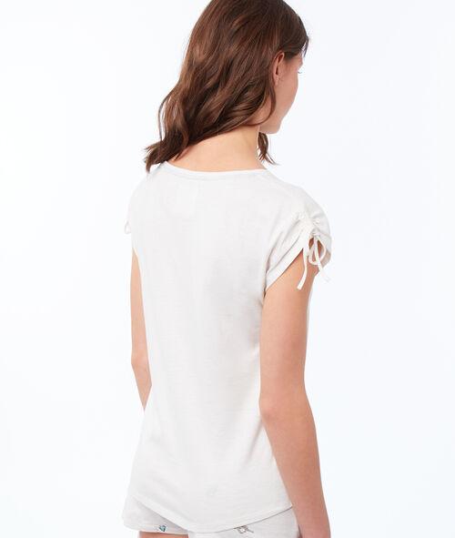 Camiseta estampado motivos marinos