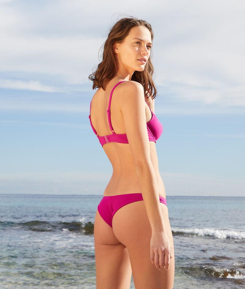 Braguita bikini brasileña lisa;${refinementColor}