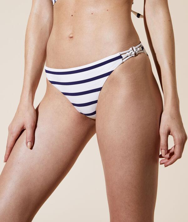 Braguita bikini rayas marineras;${refinementColor}