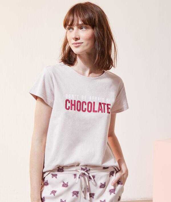 Camiseta 'chocolate';${refinementColor}