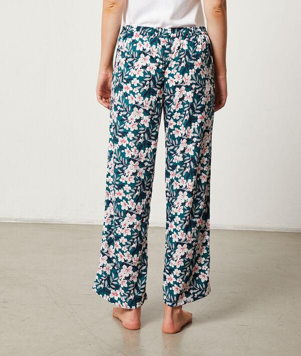 Pantalón estampado floral;${refinementColor}