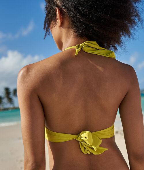 Sujetador bikini triangular liso