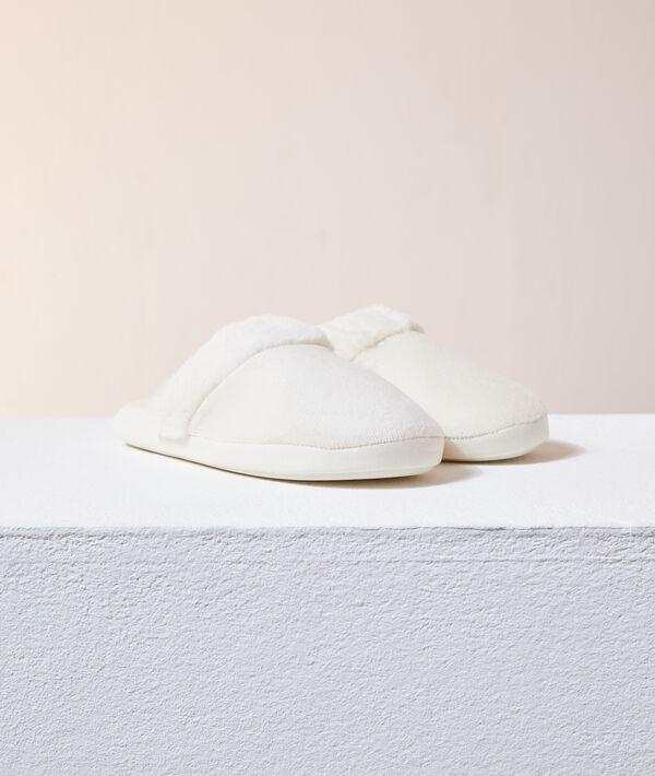 Zapatillas destalonadas de terciopelo;${refinementColor}