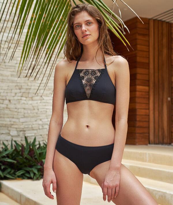 Culote bikini liso