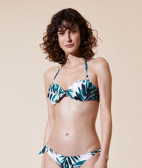 Sujetador bikini sin tirantes, copa fina;${refinementColor}