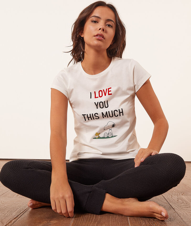 Camiseta Snoopy;${refinementColor}