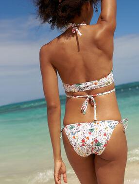 Braguita bikini estampado floral multicolor.