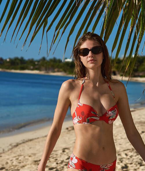 617f31265518 Sujetador bikini push up estampado floral. Copa B-C
