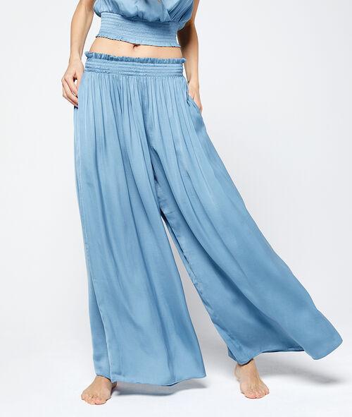 Pantalón de satén oversized