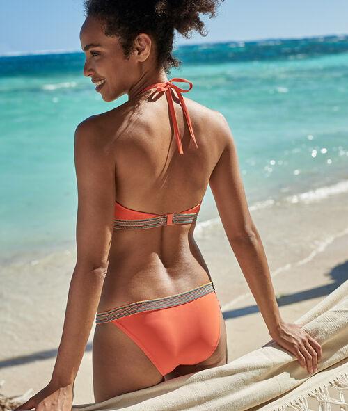 Braguita bikini franja multicolor