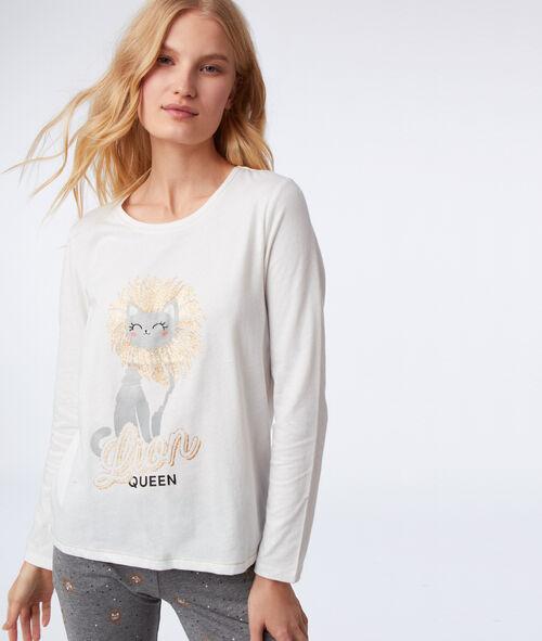 Pijama 3 piezas felinos