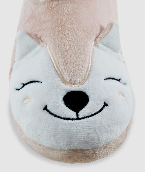 Zapatillas botín zorro