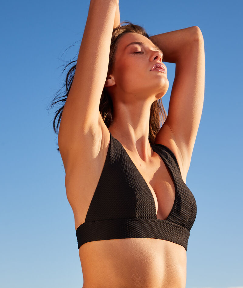 Sujetador bikini triángulo sin aros