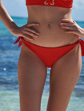 Braguita bikini brasileña rojo.