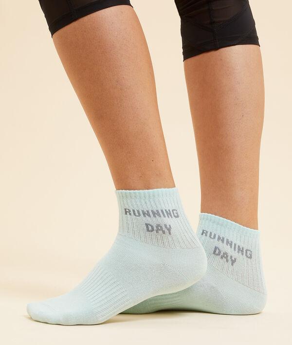 Calcetines cortos 'running day';${refinementColor}
