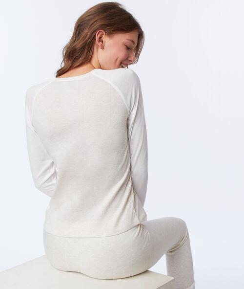 Camiseta manga larga motivos invernales