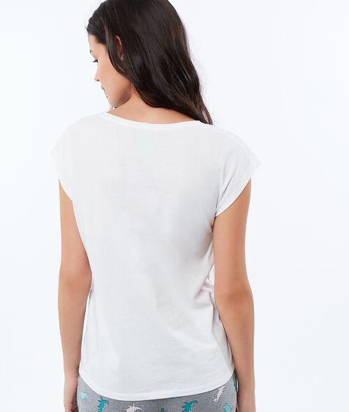 Camiseta manga corta dinosaurio