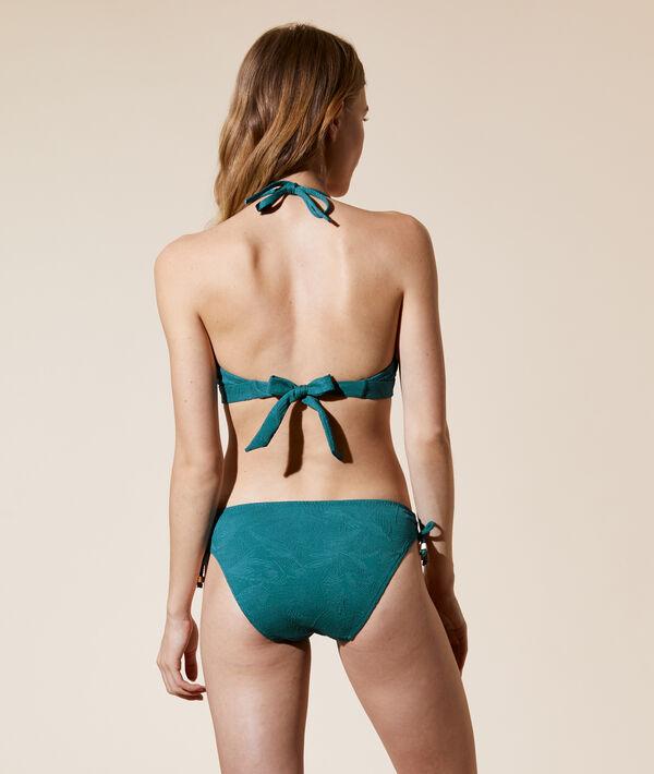 Sujetador bikini bandeau, tirantes extraíbles;${refinementColor}