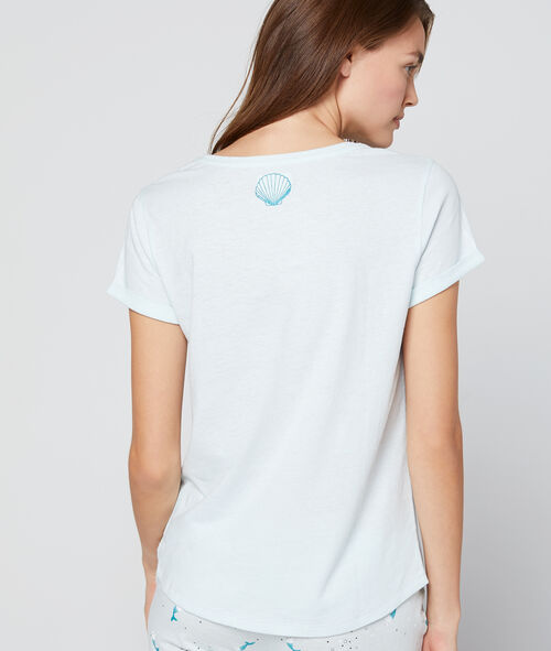 Camiseta estampado sirenas