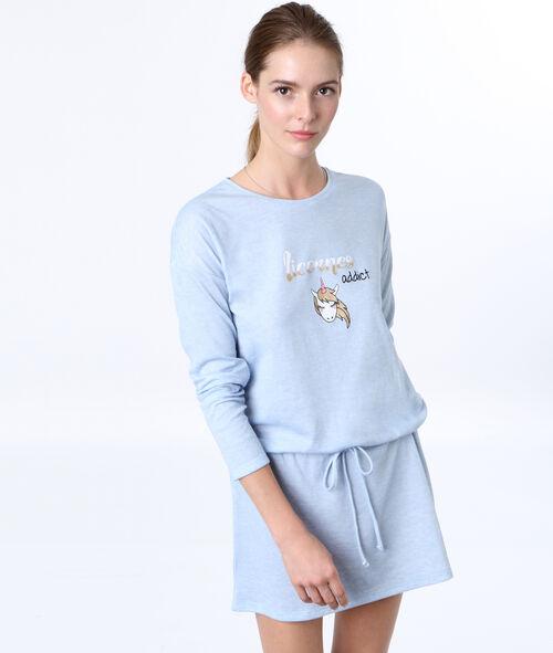 Camisón estampado unicornio