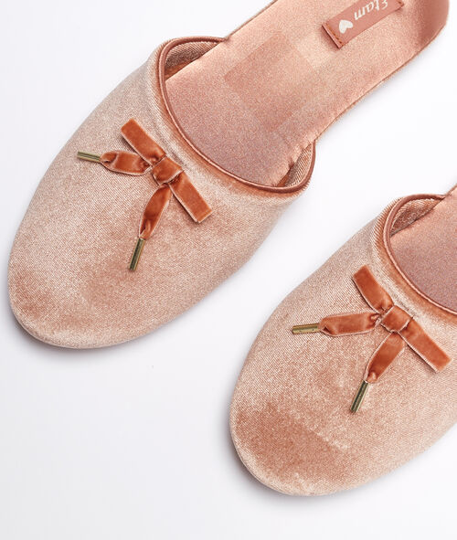 Zapatillas terciopelo