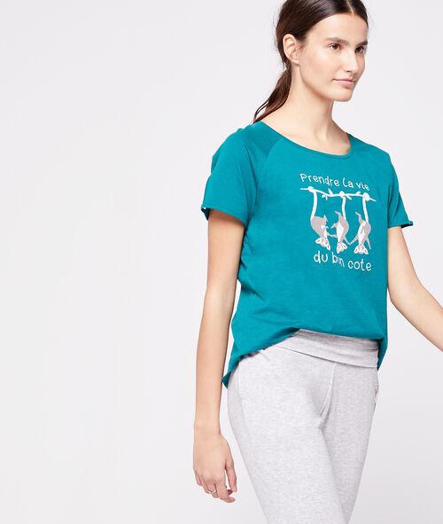 Camiseta algodón orgánico animales
