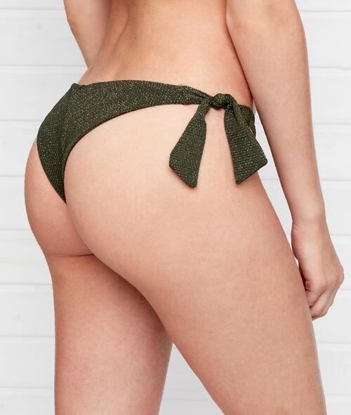 Braguita bikini brasileña irisada