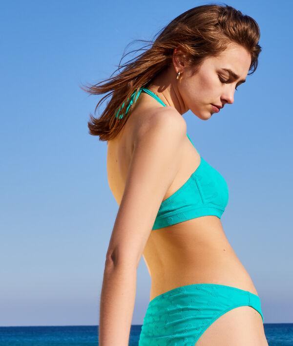 Braguita bikini, jacquard piñas;${refinementColor}