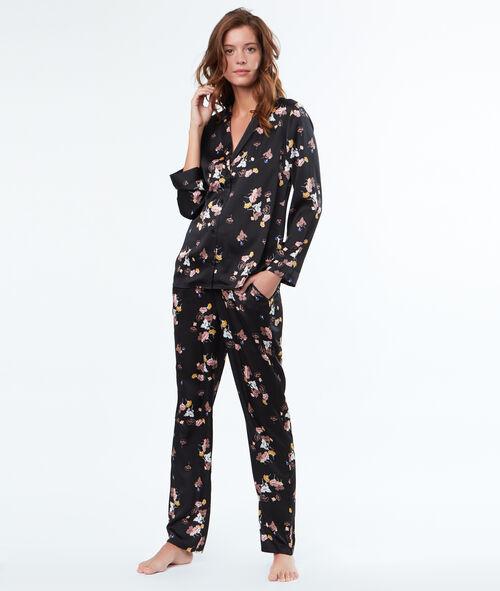 Camisa pijama estilo masculino