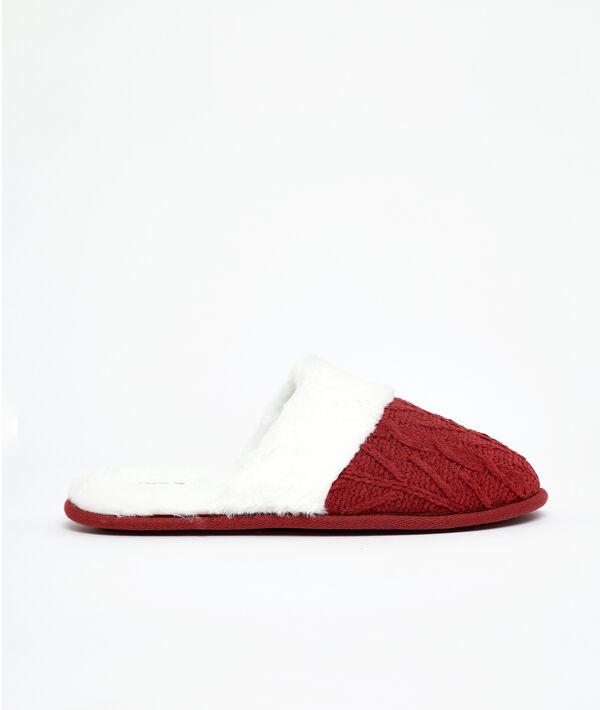 Zapatillas con forro
