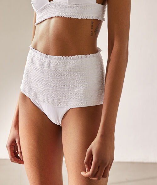 6645cc634365 Bikinis braga alta · Talle alto - Etam