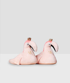 Zapatillas flamencos xxl rosa.
