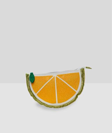 Neceser limón amarillo.