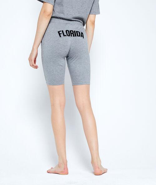 Pantalón tipo bermuda estampado 'Florida'