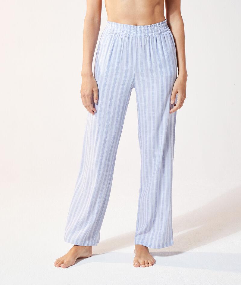 Pantalón pijama estampado de rayas