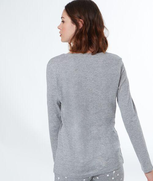 Camiseta manga larga cisne