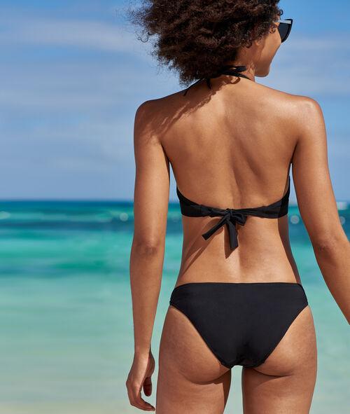 Braguita bikini cordones cruzados