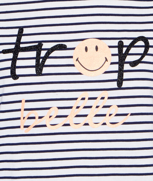 Camiseta mensaje smiley