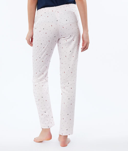 Pantalón estampado estrellas
