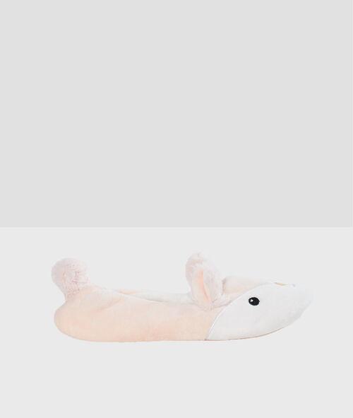 Zapatillas tipo bailarina conejitos