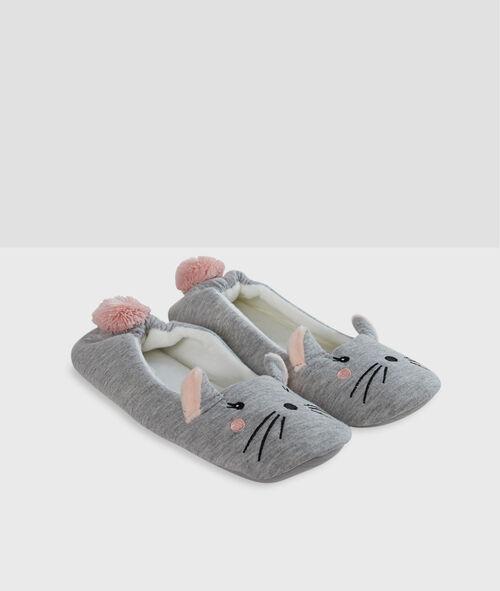 Zapatillas tipo bailarina ratoncitos