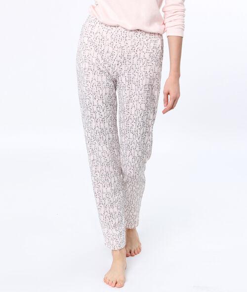 Pantalón con letras