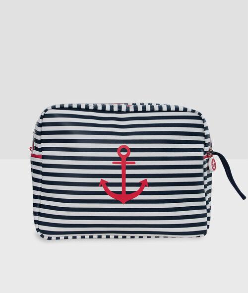 Neceser de estilo marinero