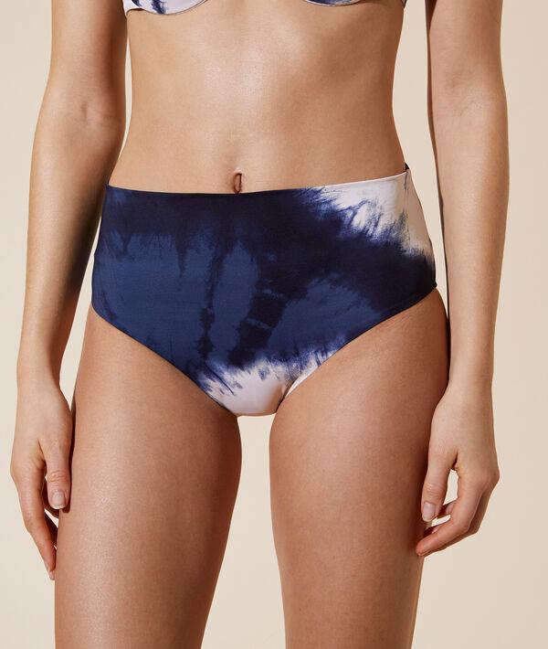 Braguita bikini estampado tie-dye;${refinementColor}