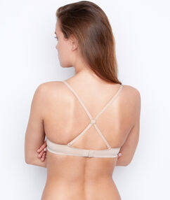 Clip espalda nadadora blanco / negro / piel.