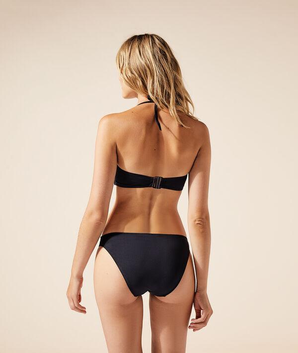 Sujetador bikini sin relleno, tirantes extraíbles;${refinementColor}