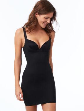 Vestido moldeador negro.