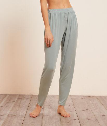 ES - Pantalon de pyjama uni;${refinementColor}